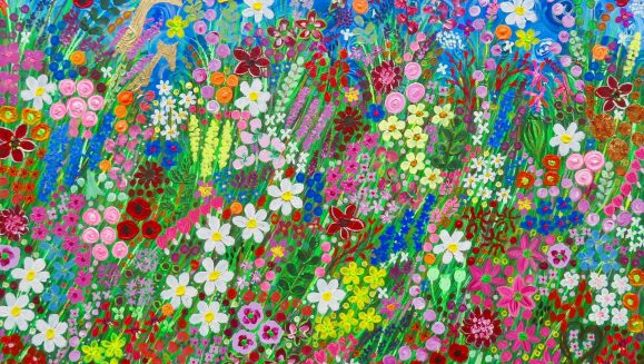 THE FLOWERS OF EASTON WALLED GARDENS by flower artist Charron Pugsley-Hill
