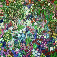 The Flowers of Monet's Garden, Original Painting