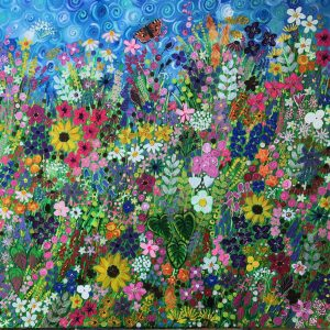 BARNSDALE GARDENS in SUMMER | An Original Painting