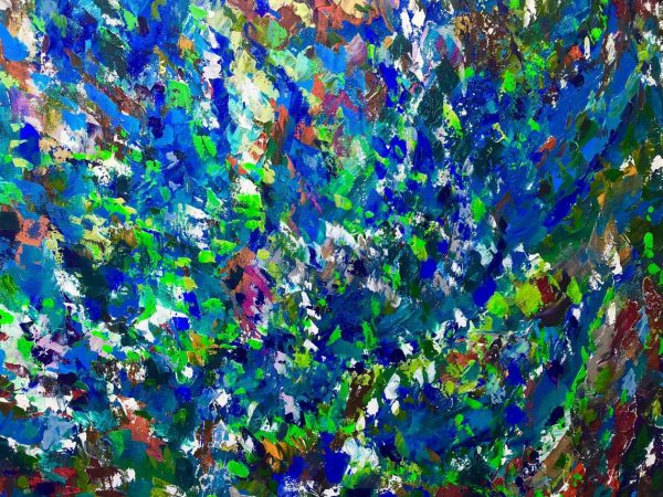 COLOURS OF ICELAND, Original Painting