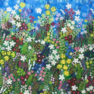 FLOWERS OF ICELAND | Original Painting