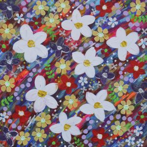 RAINBOW FLOWERS | Limited Edition Print